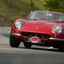 A 275 GTB4 in color to get a better sense of the car