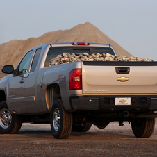 Chevrolet Silverado 2500HD Extended Cab 4WD LTZ Long Box