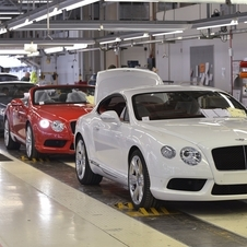 Bentley had its best year in its entire history in 2013