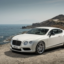 It also introduced the Continental V8 S