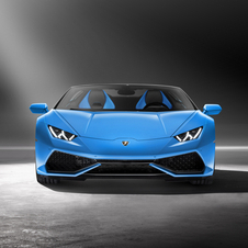 At the heart of the new Huracán LP610-4 Spyder is the same 5.2-liter V10 engine from the coupé version