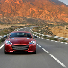 The latest Rapide S packs more power and a new look