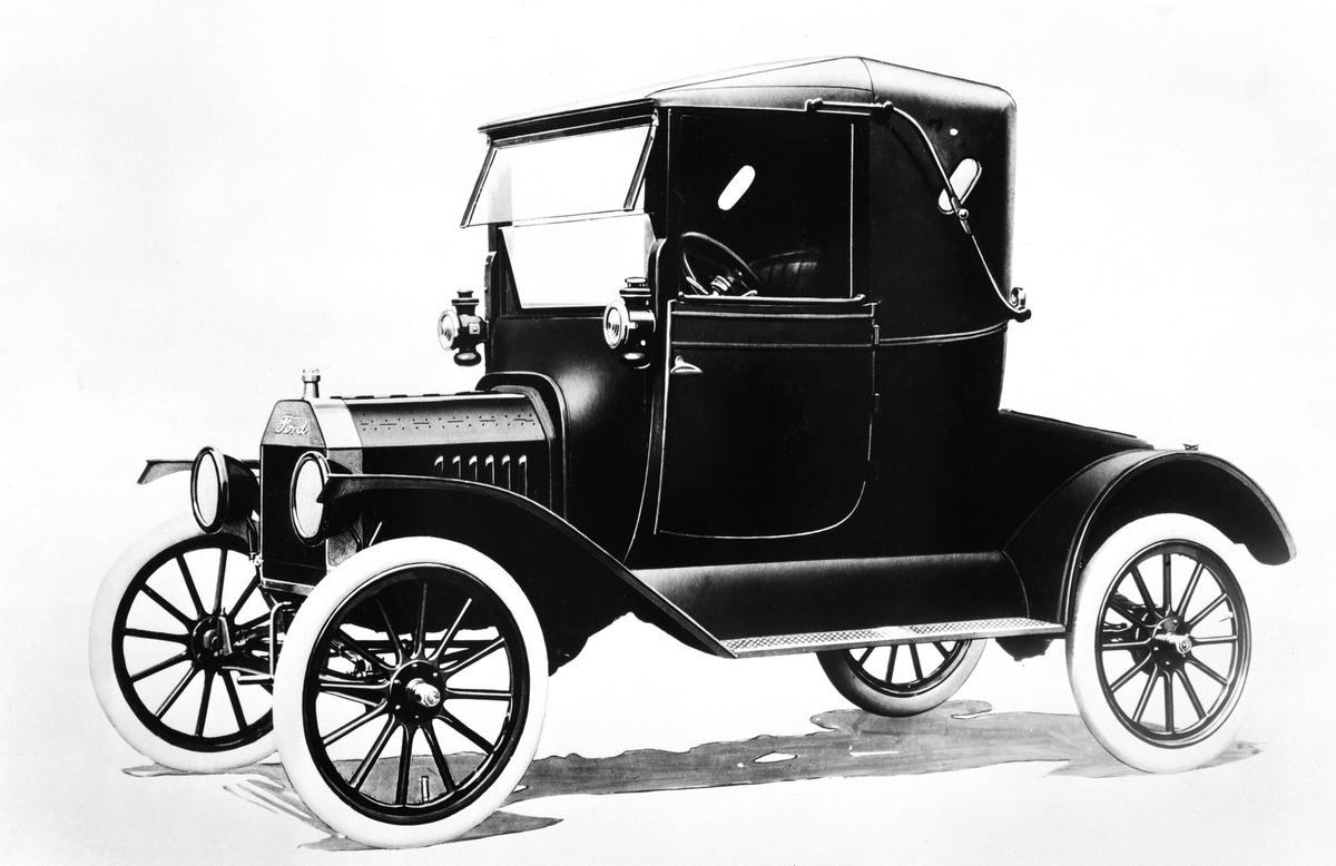 8th: Ford Model T 1917