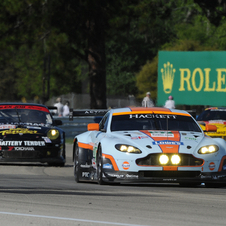 Aston Martin raced in the first several ALMS races for development