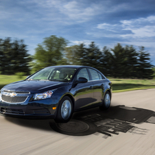The Cruze is Chevrolet's first diesel passenger car in the US in decades