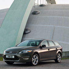 Ford Mondeo SW 1.6 TDCi ECOnetic S