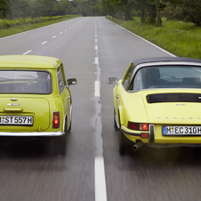 Over 5 million classic Minis were sold through 2000, and Porsche has sold over 800,000 911s