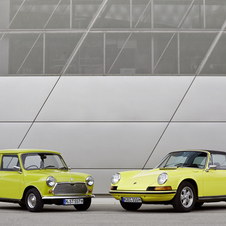 The Mini was introduced in 1959, and the Porsche was shown in 1963.