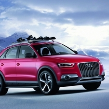 The Q3 Red Track is meant for skiers.