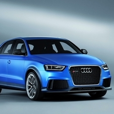 The RS Q3 is meant as the ultimate version of the compact SUV