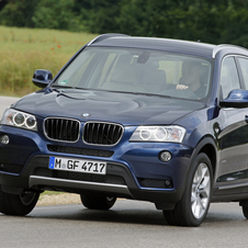 The X3 will be refreshed to match the front of the X4