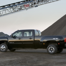 Chevrolet Silverado 3500HD Crew Cab 2WD LTZ Long Box DRW