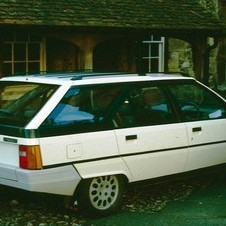 Citroën BX17 Break TZD