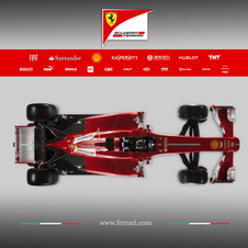 The rear bodywork of the car is more narrow with a sharper point
