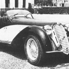Alfa Romeo 8C 2900 B MM Touring Spider