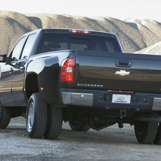 Chevrolet Silverado 3500HD Crew Cab 2WD LTZ Long Box SRW
