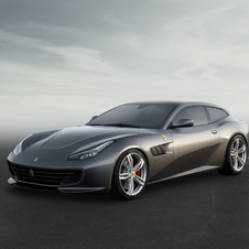 The GTC4 Lusso gets some updates in terms of design, including aerodynamic improvements