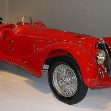 Alfa Romeo 8C 2900 MM Touring Spider