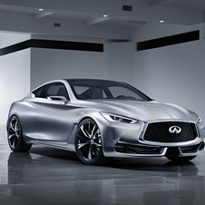 Design of the Q60 is inspired on the Q80 Inspiration and the Q50 Eau Rouge