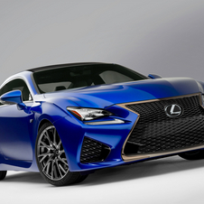 Lexus still has not revealed how much power the car's V8 has