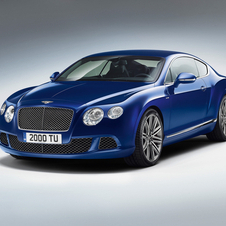 The new Continental GT Speed has 625ps and 800Nm