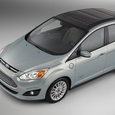 The C-Max Solar Energi gets solar cells mounted along the length of the roof