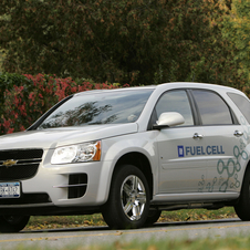 The car was introduced in 2007 as part of GM's fuel cell fleet