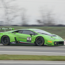 The Huracán GT3 will compete this season in the Blancpain Endurance Series in Europe