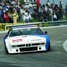 The M1 Procar raced with 400hp in a series set up by BMW, Max Mosley and Bernie Ecclestone  and