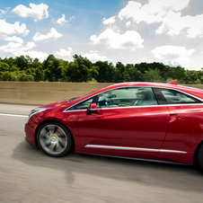 The ELR gets luxury features like LED headlights
