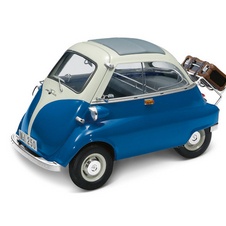 With its odd, egg-like shape, it is difficult not to smile at the sight of an Isetta.