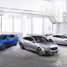 All of Jaguar's modern R models will be on display