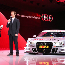 The latest Audi DTM car will be based on the RS5