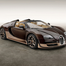 The new version celebrates Rembrandt Bugatti, a famous sculptor and brother of company founder Ettore Bugatti