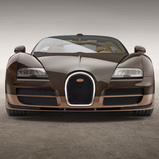 The Rembrandt Bugatti is powered by the same W16 8.0 litre engine of the Veyron Grand Sport Vitesse