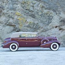 Cadillac V-12 Convertible Sedan by Fleetwood
