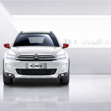 The C-XR design follows the traditional features of current SUV models with a wide grille with chrome trim