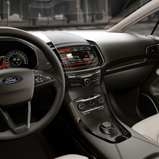 The interior has a cascading infotainment system and LED instruments