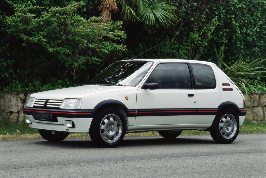 peugeot 205 gti 1 9 1 photo et 56 sp cifications. Black Bedroom Furniture Sets. Home Design Ideas