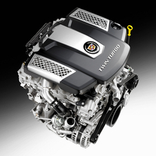 The new twin-turbo V6 has 420hp and 430lb-ft of torque
