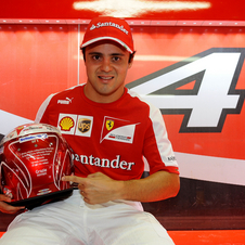 Felipe Massa is going into his final race with Ferrari