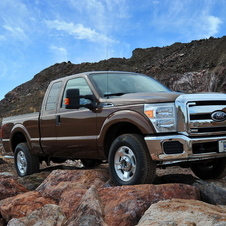 Ford F-Series Super Duty 156-in. WB XL Styleside Crew Cab 4x2