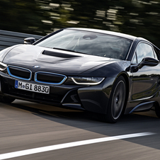 The i8 is BMW's attempt to show that a hybrid sports car is a realistic possibility