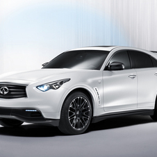 First Image of Sebastian Vettel Special Edition Infiniti FX Released and to Be Unveiled at Frankfurt