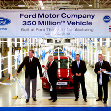 Ford has built its 350 millionth vehicle in its history