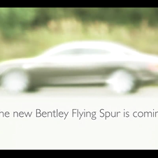 Bentley will debut the new Flying Spur in Geneva