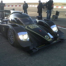 First Image of Lotus LMP2 Car Released