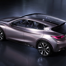 The Q30 is Infiniti's entry into the compact SUV market