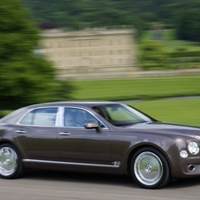 The Mulsanne gives buyers the options for a larger, more opulent sedan
