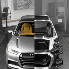 The company's design plan is to make the chassis a part of the design, especially the A-pillars and grill